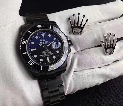 Toate Black Ceas Rolex Replica Water Ghost Cel mai bun ceas replica  negru pentru bărbați de pe piață